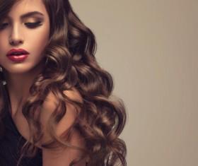 Beautiful hair Beauties model Stock Photo 12