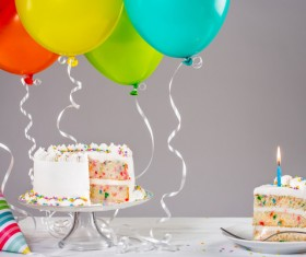 Birthday Cake Stock Photo 06