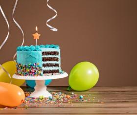 Birthday Cake Stock Photo 08