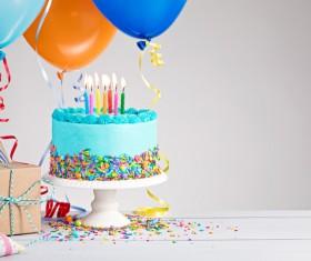 Birthday Cake Stock Photo 09