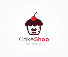 Cake Shop Logo Vector