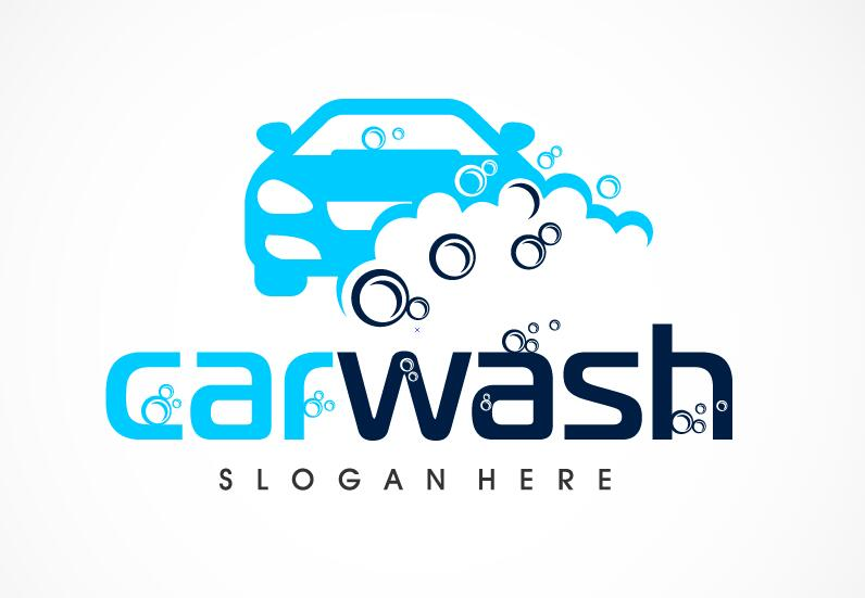 car wash logo vector - vector car, vector logo free download