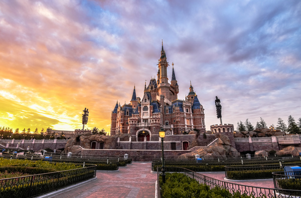 China Shanghai Disneyland Stock Photo