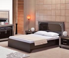 Comfortable bedroom Stock Photo 02