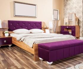 Comfortable bedroom Stock Photo 03