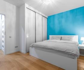 Comfortable bedroom Stock Photo 05