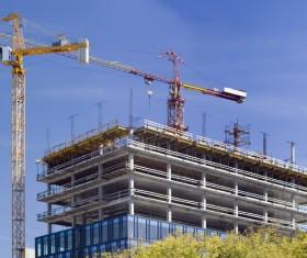 Construction site crane Stock Photo 02