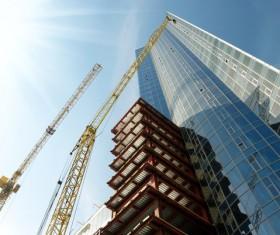 Construction site crane Stock Photo 04