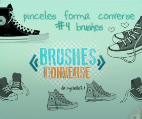 Converse photoshop brushes