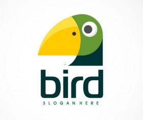 Creative bird logo vector