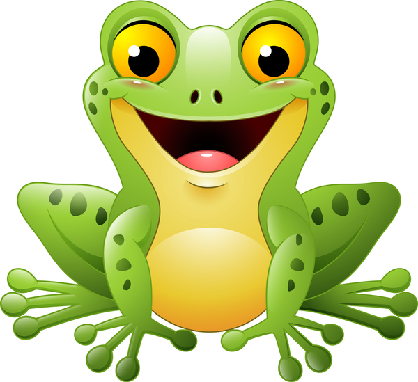 cute frog cartoon vector 01 free download rh freedesignfile com