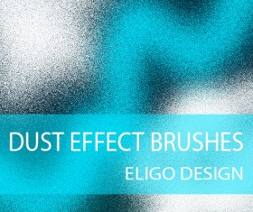 Dust effect photoshop brushes