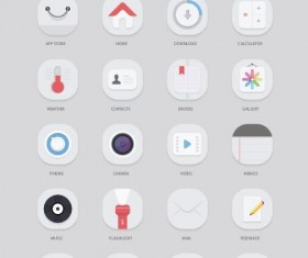 Elegant Mobile App Icons