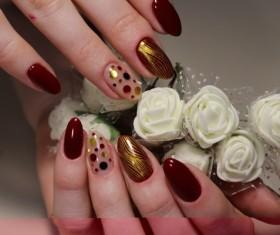 Fashion nail Stock Photo
