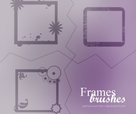 Frames Photoshop Brush