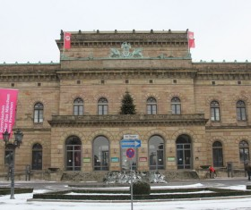 Germany Braunschweig National Theater Stock Photo