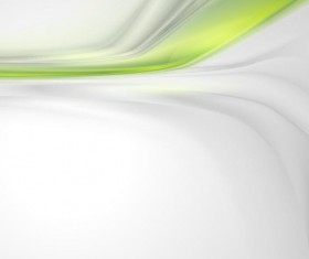 Green wavy transparent abstract backgrounds vector 02