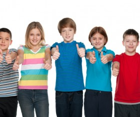 Group of happy students Stock Photo 05