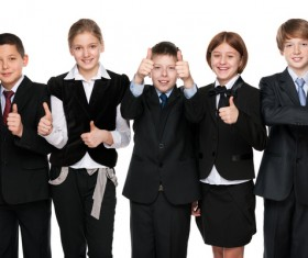 Group of happy students Stock Photo 06