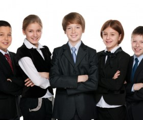 Group of happy students Stock Photo 07
