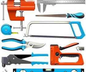 Hand Tools Icons vector