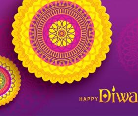 Happy diwali background design vectors 09