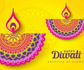 Happy diwali background design vectors 10