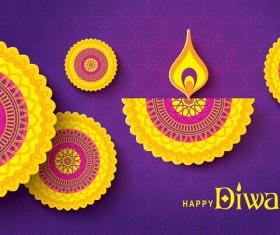 Happy diwali background design vectors 13