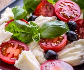 Healthy diet of Caprice salad Stock Photo 10