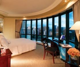 Hotel Deluxe Suite Stock Photo