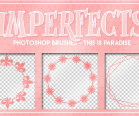 Imperfects photoshop brushes