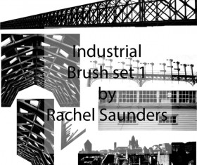 Industrial photoshop brushes