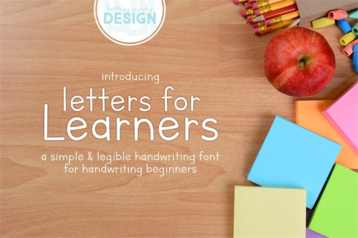 Letters Learners font