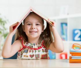 Lovely pre-school children Stock Photo 01