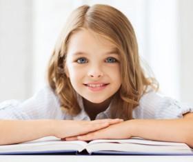Lovely pupils Stock Photo 02