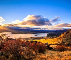 New Zealand South Island scenery Stock Photo