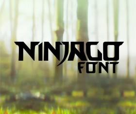 Ninjago free font