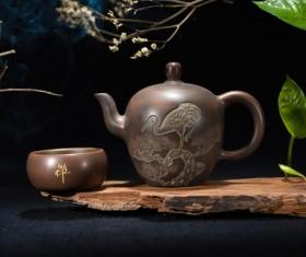 Oriental Tea Still Life Photography Stock Photo