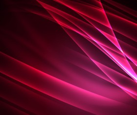 Pink red polar lights abstract background vector