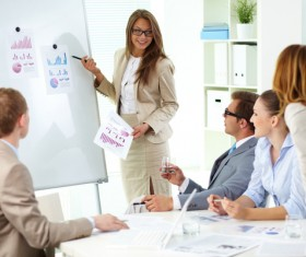 Product Data Conferencing Stock Photo