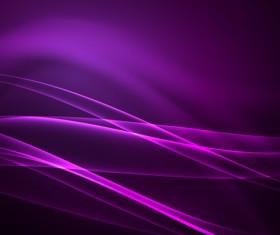 Purple polar lights abstract background vector