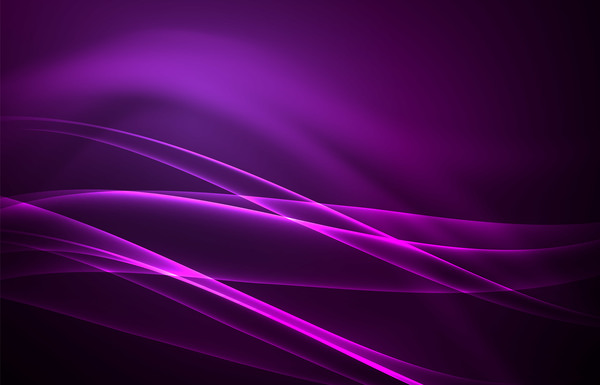 purple polar lights abstract background vector free download