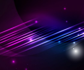 Purple with blue light lines background vector 01