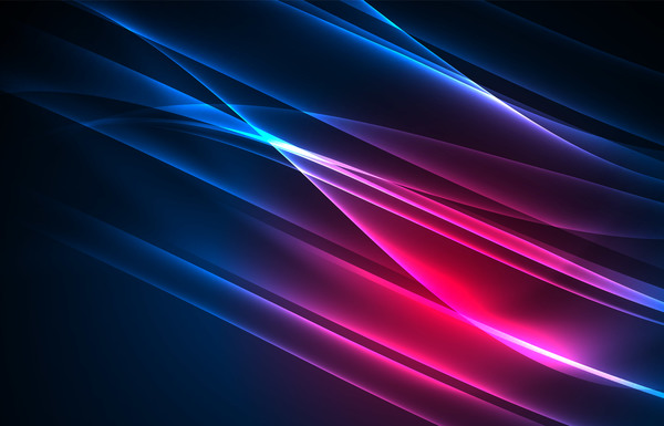 Purple with blue light lines background vector 03