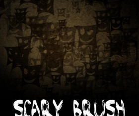 Scary photoshop brushes