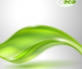 Shiny eco background abstract vector 01