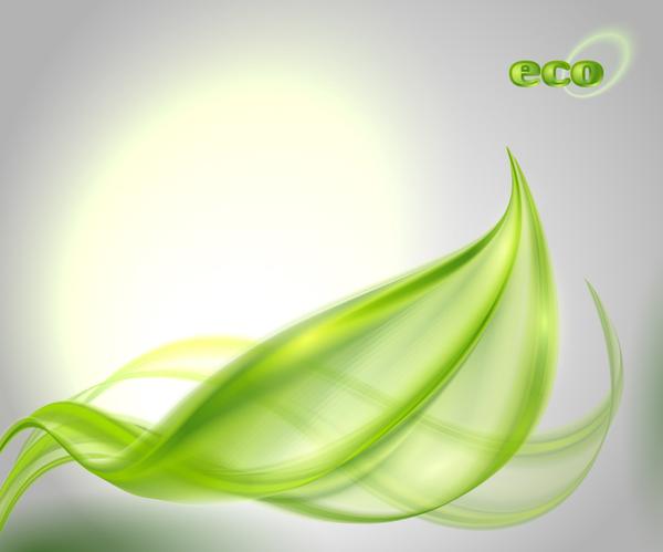 Shiny eco background abstract vector 03