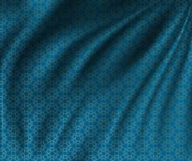 Silk fabric pattern design vector 01