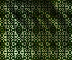 Silk fabric pattern design vector 03