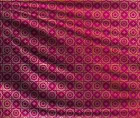 Silk fabric pattern design vector 12